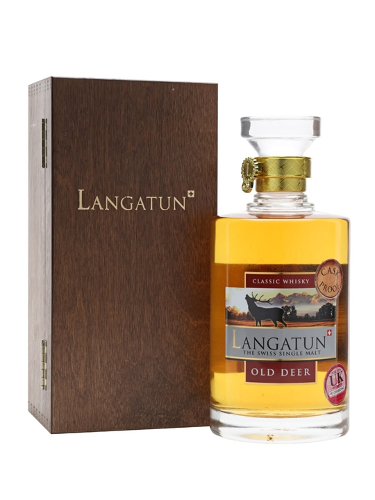 Langatun Old Deer / Cask Proof Swiss Single Malt Whisky