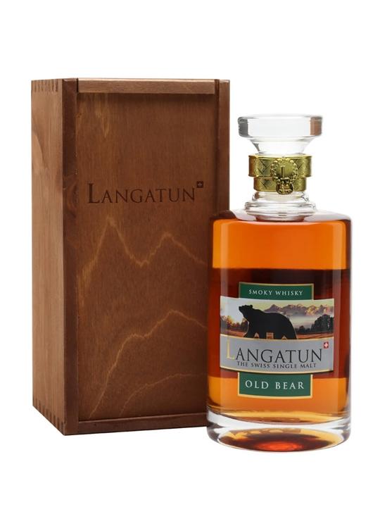 Langatun Old Bear Swiss Single Malt Whisky