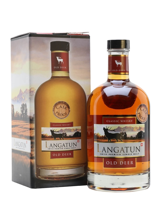 Langatun Old Deer 2008 / Cask Proof Swiss Single Malt Whisky