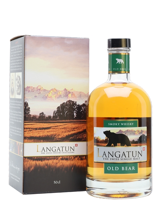 Langatun Old Bear 2013 Smoky Whisky Swiss Single Malt Whisky