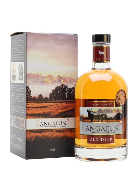 Langatun Old Deer 2013 / 4 Year Old / Cask Proof Swiss Whisky
