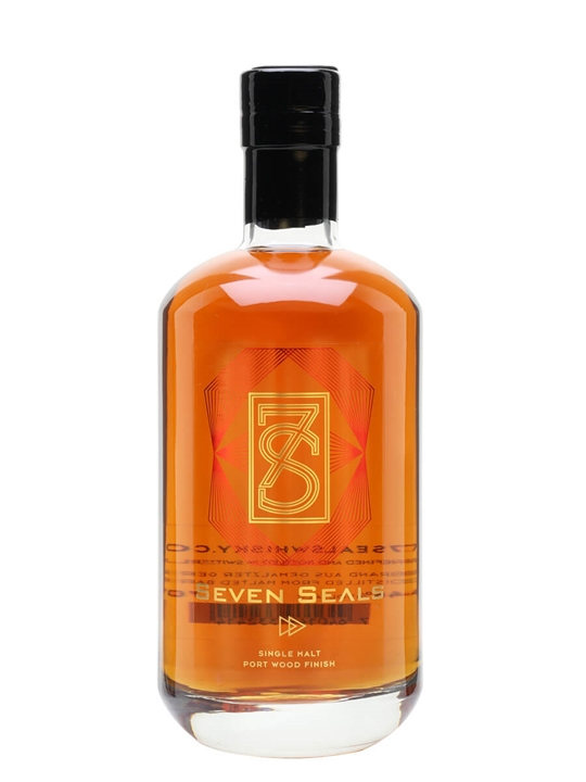 Seven Seals / Port Wood Finish Swiss Single Malt Whisky