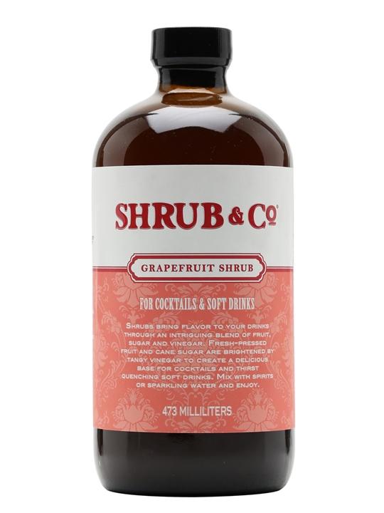 Shrub & Co Grapefruit Shrub