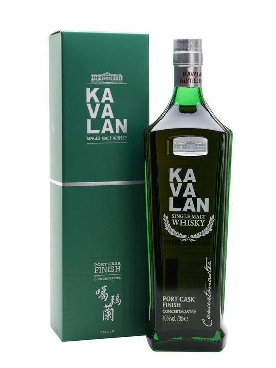 Kavalan Concertmaster / Port Cask Finish Taiwanese Single Malt Whisky