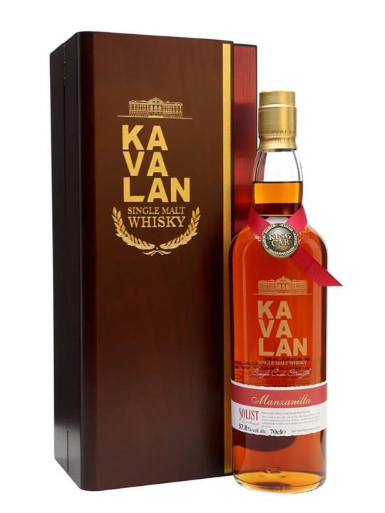 Kavalan Solist Manzanilla Cask #010A (2011) Taiwanese Whisky
