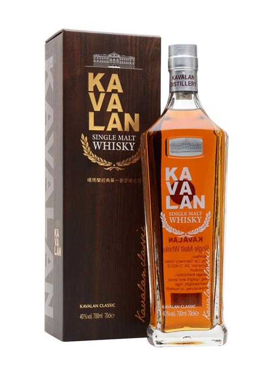 Kavalan Classic Single Malt Taiwanese Single Malt Whisky