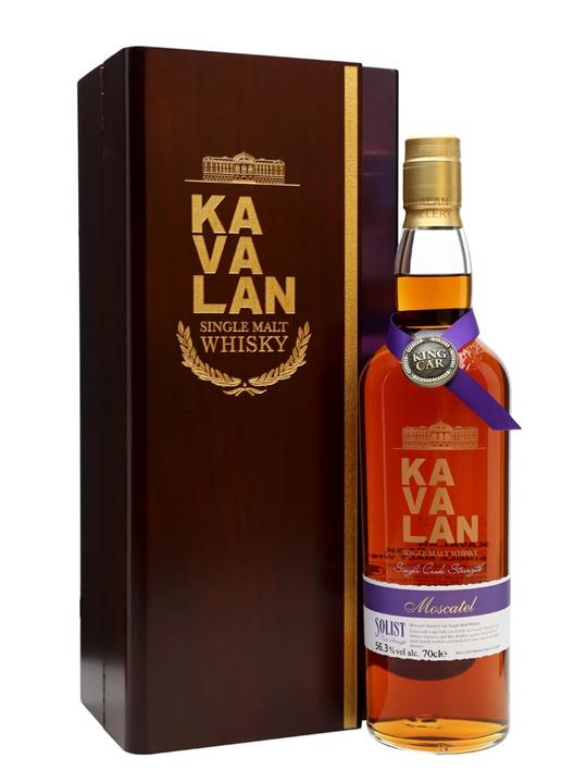 Kavalan Solist Moscatel Cask #031A (2010) Taiwanese Single Malt Whisky