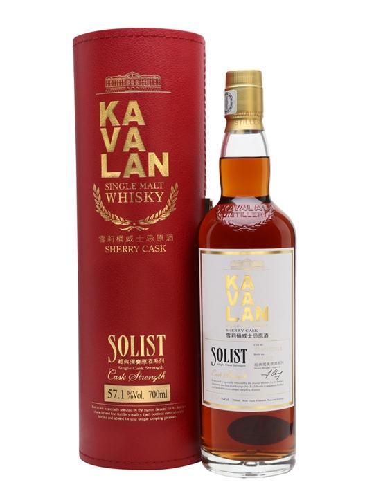 Kavalan Solist Sherry Cask #006a (2010) Taiwanese Single Malt Whisky