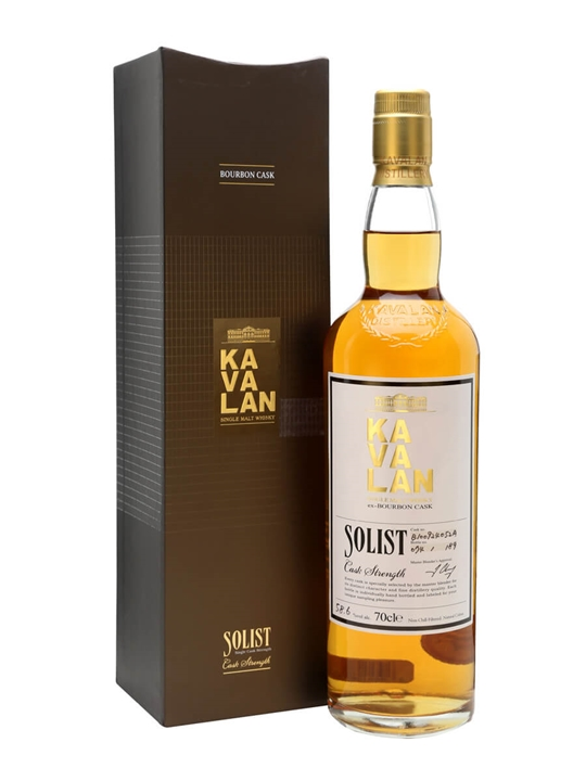 Kavalan Solist Bourbon Cask #052A (2010) Taiwanese Single Malt Whisky