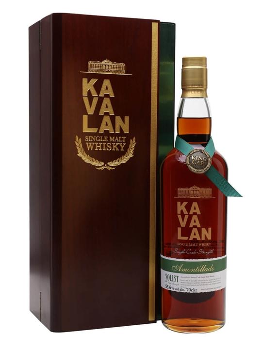 Kavalan Solist Amontillado Cask #011A (2010) Taiwanese Whisky