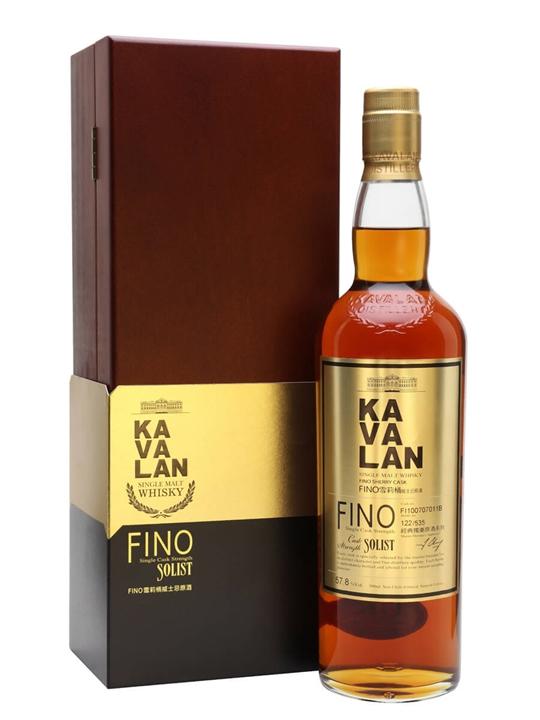 Kavalan Solist Fino Sherry Cask #011B (2010) Taiwanese Whisky