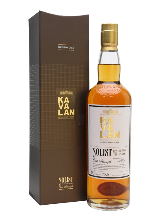 Kavalan Solist Bourbon Cask #025A (2010) Taiwanese Single Malt Whisky