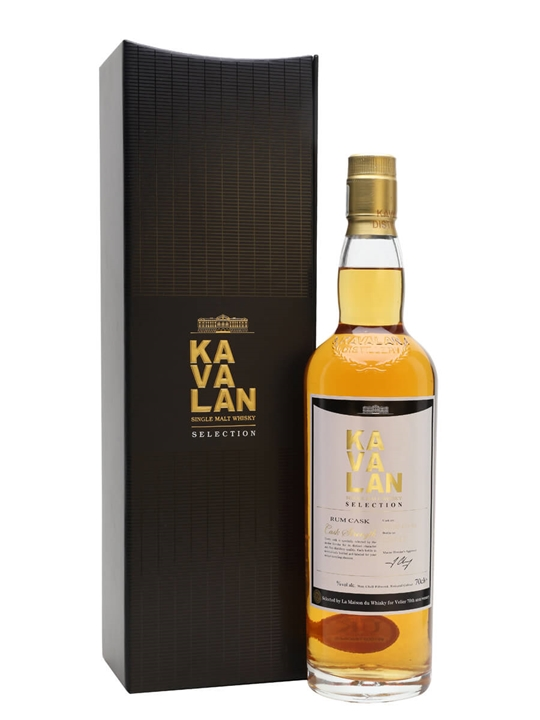Kavalan Rum Cask / Velier 70th Taiwanese Single Malt Whisky