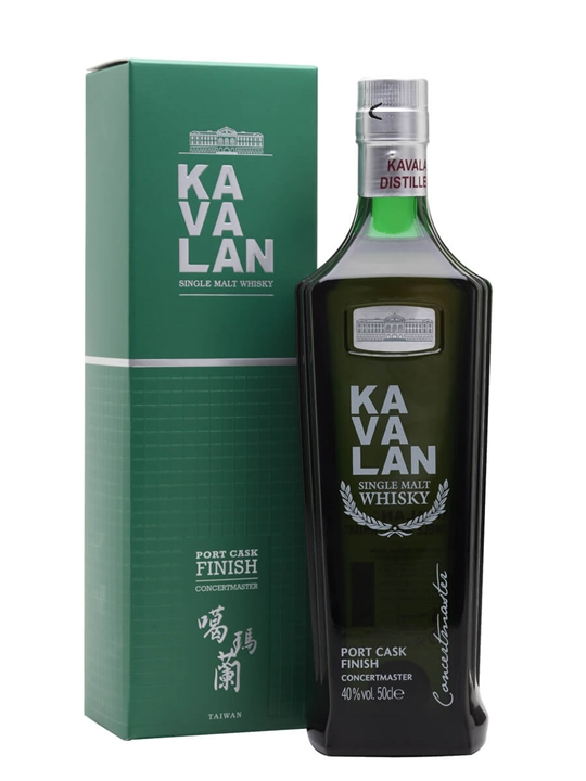 Kavalan Concertmaster / Port Finish / Half Litre Single Whisky