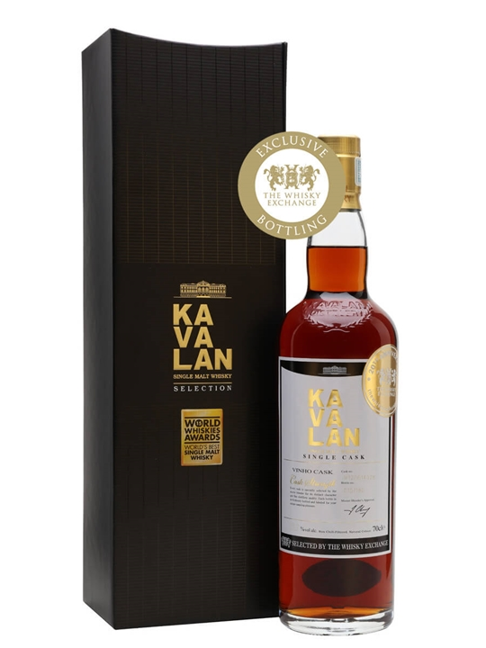 Kavalan Vinho Barrique 2012 / TWE Exclusive Taiwanese Whisky