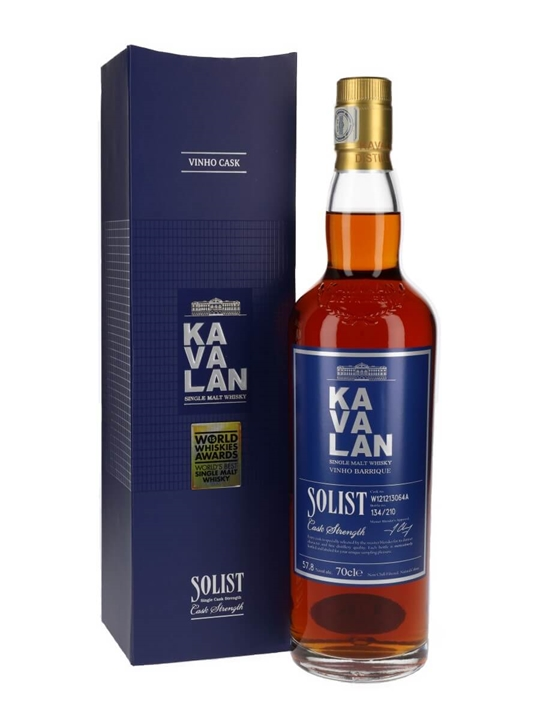 Kavalan Solist Vinho Barrique 064A (2012) Taiwan Single Malt Whisky