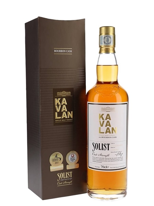 Kavalan Solist Bourbon Cask #046 (2010) Taiwanese Single Malt Whisky