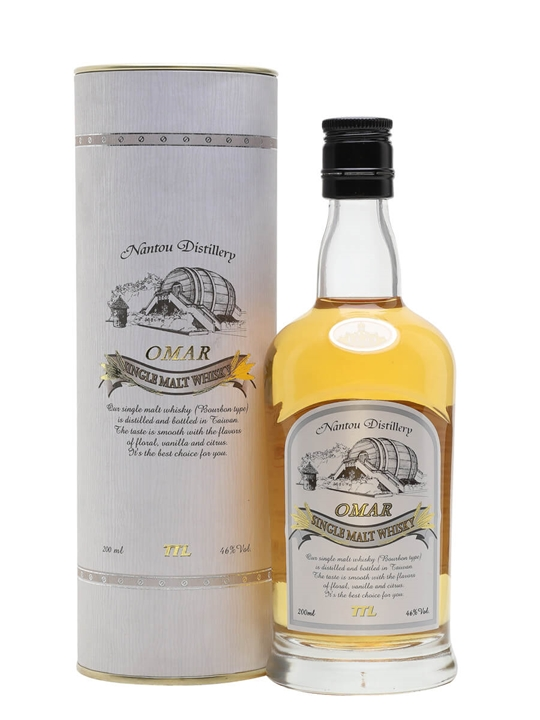 Omar Bourbon Single Malt / Small Bottle Taiwanese Single Malt Whisky