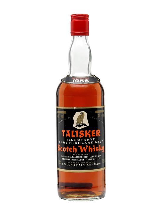 Talisker 1956 / Bot.1980s / Gordon & MacPhail Island Whisky