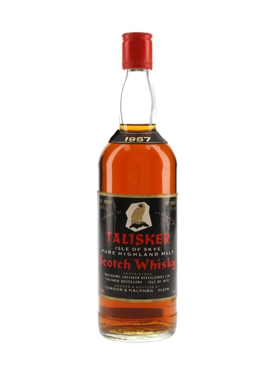 Talisker 1957  Bot.1970s  Gordon & MacPhail Island Whisky