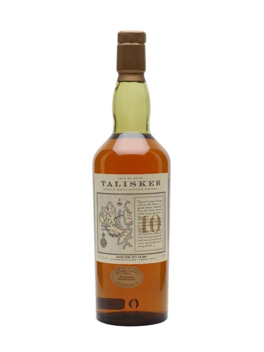 Talisker 10 Year Old / Bot.1980s Island Single Malt Scotch Whisky