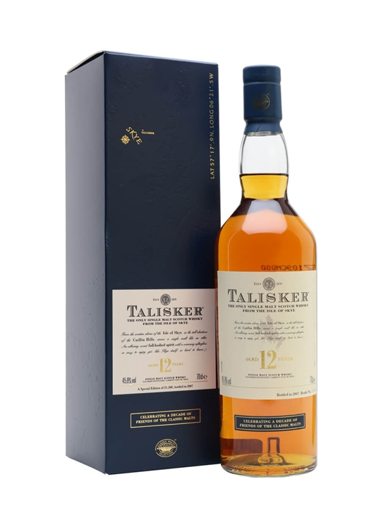 Talisker 12 Year Old / Friends of Classic Malts Island Whisky