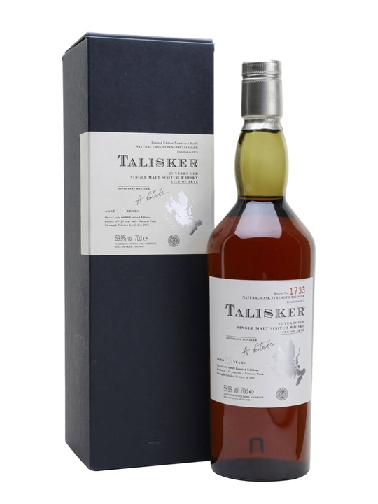 Talisker 1975 / 25 Year Old Island Single Malt Scotch Whisky