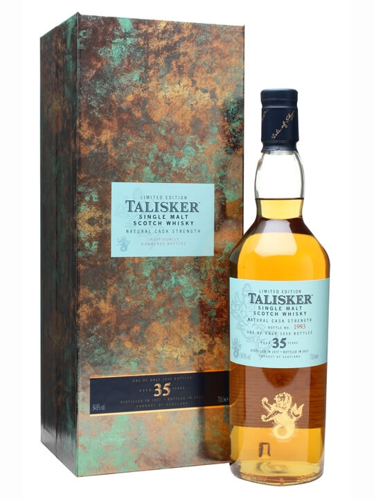 Talisker 1977  35 Year Old Island Single Malt Scotch Whisky