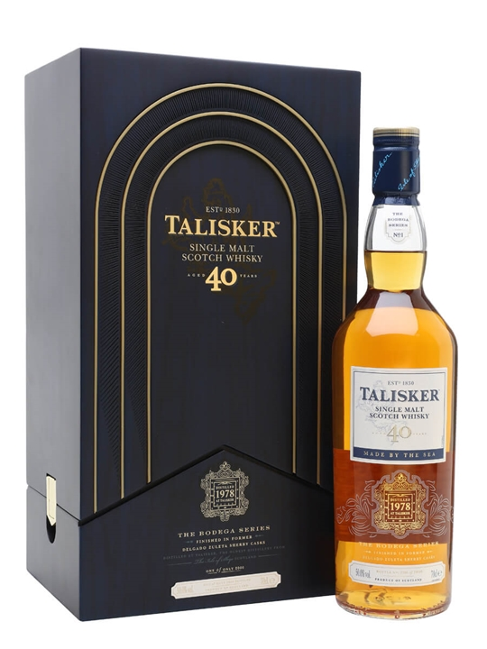 Talisker 1978 / 40 Year Old / Bodega Series Island Whisky