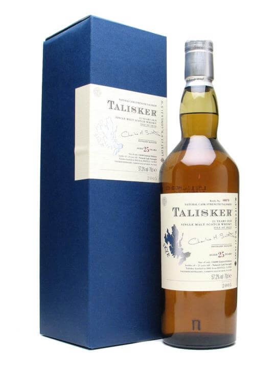 Talisker 25 Year Old / Bot.2005 Island Single Malt Scotch Whisky