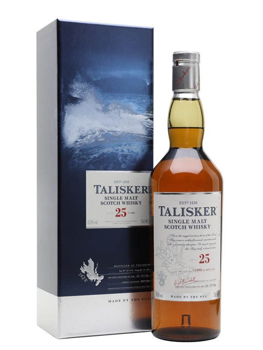 Talisker 25 Year Old / Bot.2018 Island Single Malt Scotch Whisky