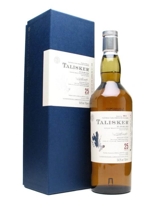 Talisker 25 Year Old / Bot.2008 Island Single Malt Scotch Whisky
