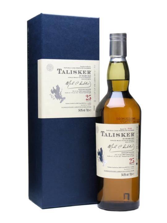 Talisker 25 Year Old / Bot.2009 Island Single Malt Scotch Whisky