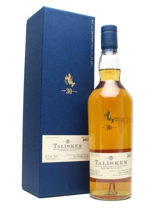 Talisker 30 Year Old / Bot.2007 Islay Single Malt Scotch Whisky