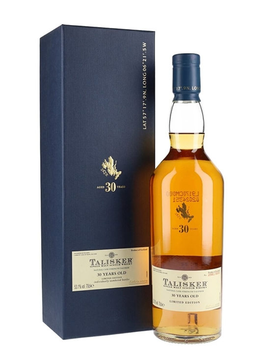 Talisker 30 Year Old  Bot.2009 Island Single Malt Scotch Whisky