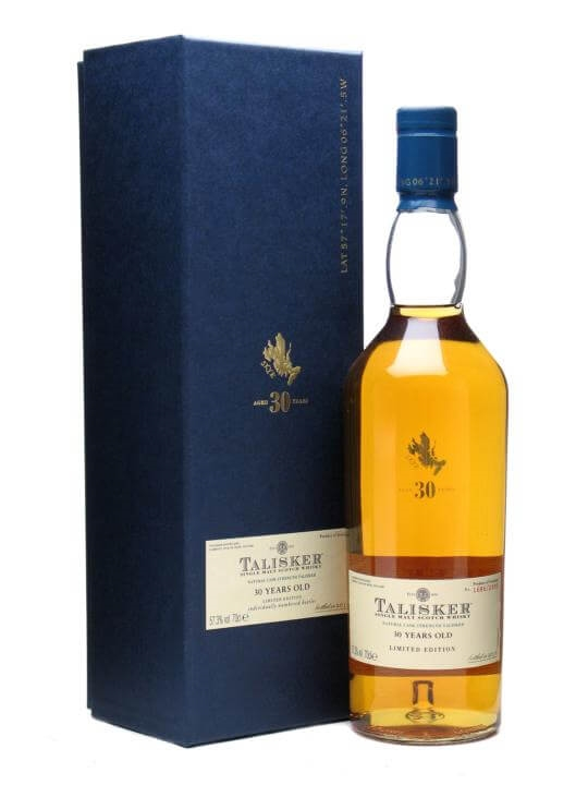 Talisker 30 Year Old  Bot.2010 Island Single Malt Scotch Whisky