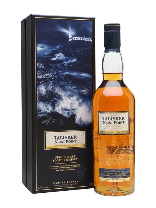 Talisker Neist Point Island Single Malt Scotch Whisky