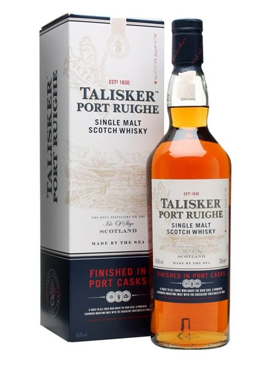 Talisker Port Ruighe / Port Finish Island Single Malt Scotch Whisky