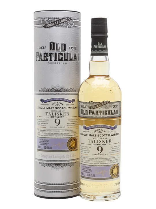 Talisker 2010 / 9 Year Old / Old Particular Island Whisky
