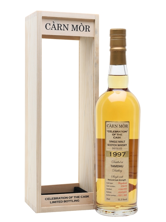 Tamdhu 1997 / 21 Year Old / Carn Mor Speyside Whisky