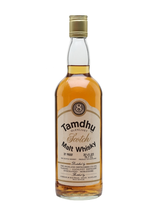 Tamdhu 8 Year Old / Bot.1970s / G&M Speyside Single Malt Scotch Whisky