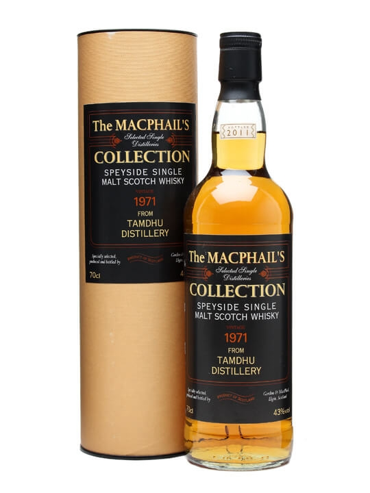 Tamdhu 1971 / Macphail's Collection Speyside Single Malt Scotch Whisky