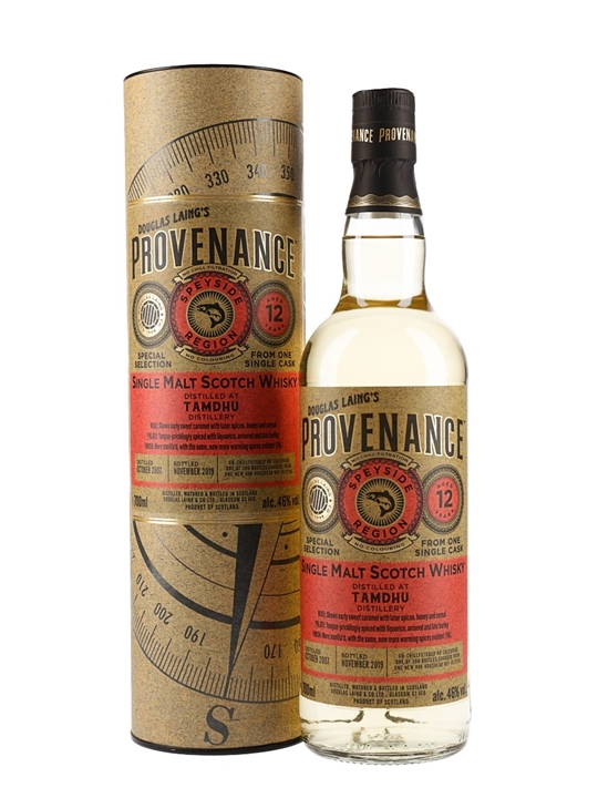 Tamdhu 2007 / 12 Year Old / Provenance Speyside Whisky