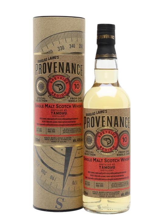 Tamdhu 2009 / 10 Year Old / Provenance Speyside Whisky