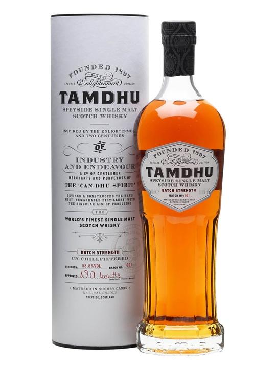 Tamdhu Batch Strength / Sherry Cask Speyside Single Malt Scotch Whisky