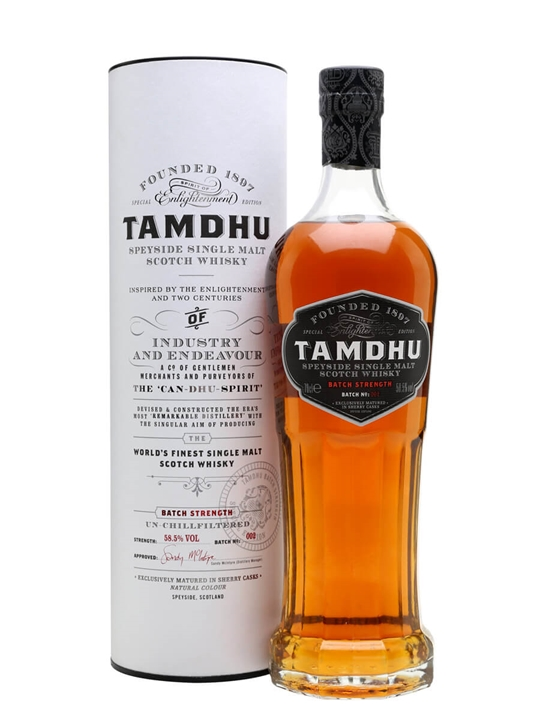 Tamdhu Batch Strength / Batch No 2 Speyside Single Malt Scotch Whisky