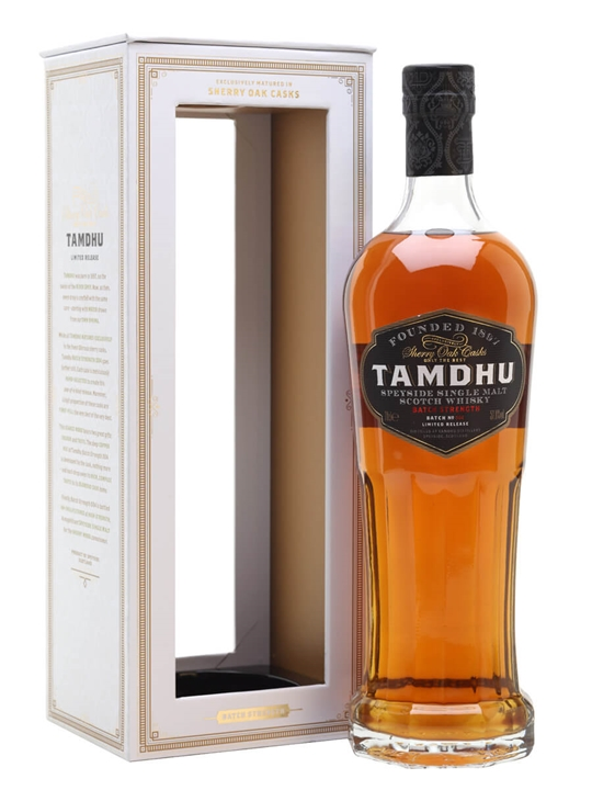 Tamdhu Batch Strength / Batch No 4 Speyside Single Malt Scotch Whisky