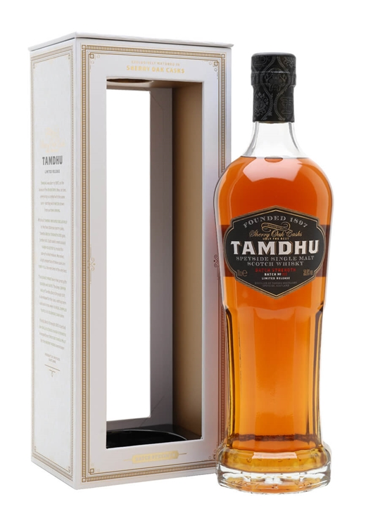 Tamdhu Batch Strength / Batch No 5 Speyside Single Malt Scotch Whisky