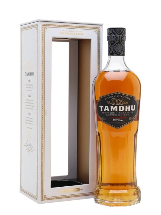 Tamdhu Batch Strength / Batch No 6 Speyside Single Malt Scotch Whisky