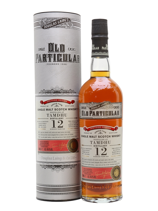 Tamdhu 2007 / 12 Year Old / Old Particular Speyside Whisky